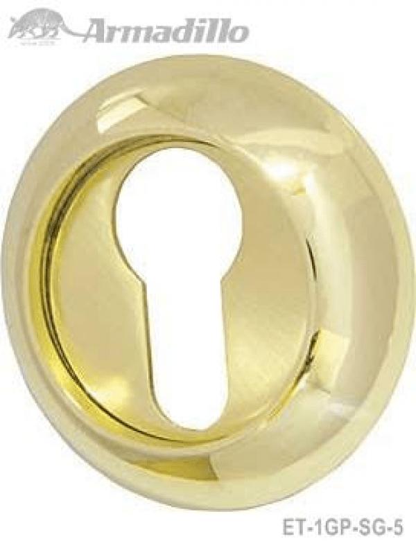 Накладка CYLINDER ET-1GP/SG-5 золото/матовое золото 2шт.
